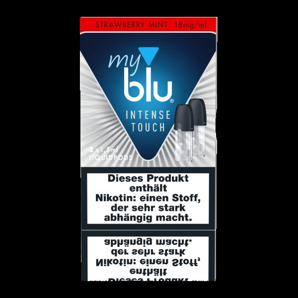 myblu Strawberry Mint Intense Touch Liquidpods (18mg/ml Nikotin)