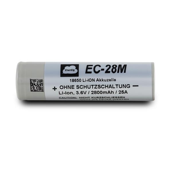 Enercig EC-28M 18650 2800mAh 25A