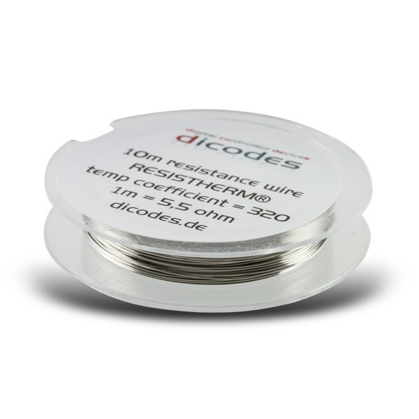 Dicodes Wire Resistherm (NiFe30 - 10 Meter)