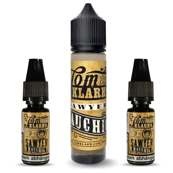 Tom Sawyer Rauchig Liquid-Bundle (6 mg/ml Nikotin)
