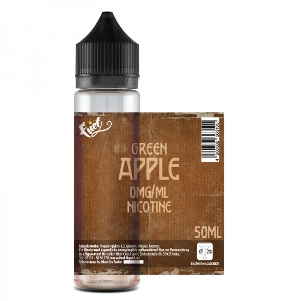 Green Apple Liquid 50ml