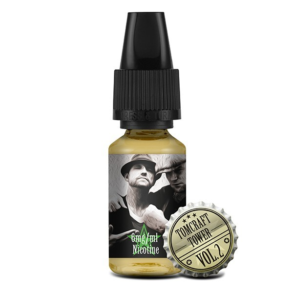 "Tomcraft & Tower ""Vol. 2"" Liquid 10ml (6 mg/ml Nikotin)"