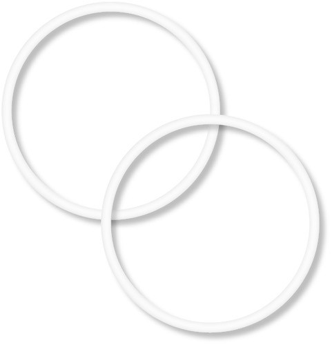 Dvarw MTL FL 22 O-Ring Set für Glastank-Kit