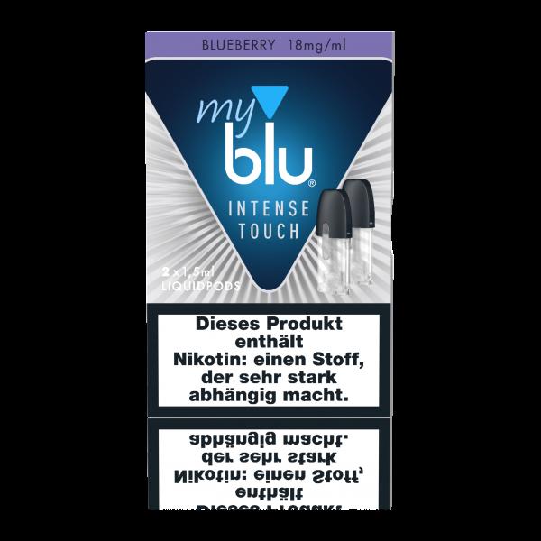 myblu Blueberry Intense Touch Liquidpods (18mg/ml Nikotin)