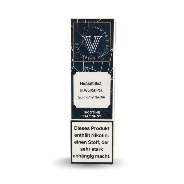 50-50 Vaves NicSalt Shot 10ml (20 mg/ml Nikotin)
