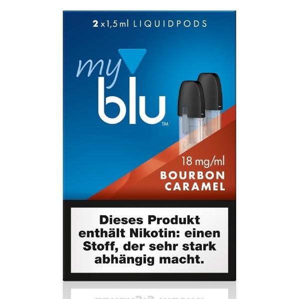myblu Bourbon Caramel Liquidpods