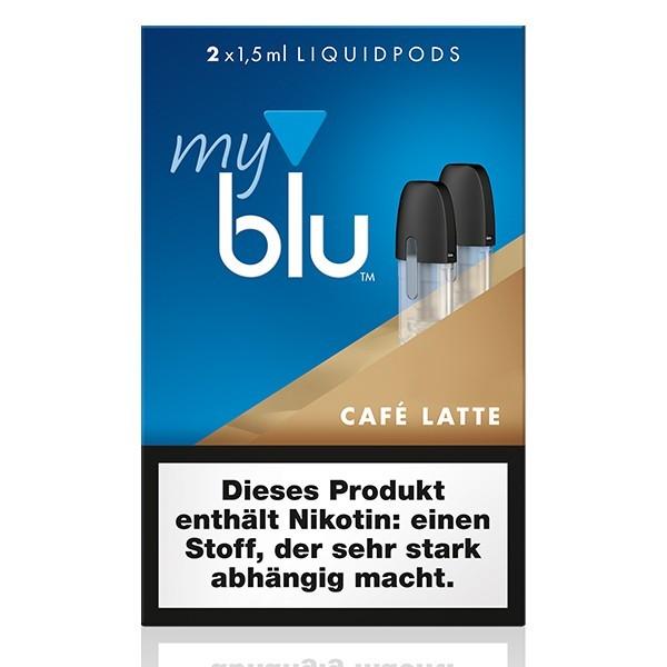 myblu CafeLatte Liquidpods