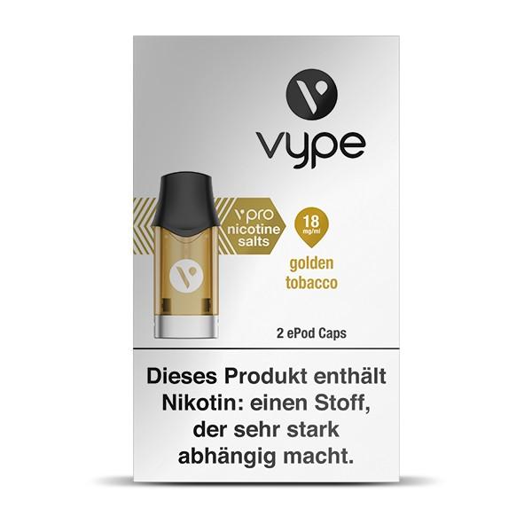Vype ePod Caps vPro Golden Tobacco
