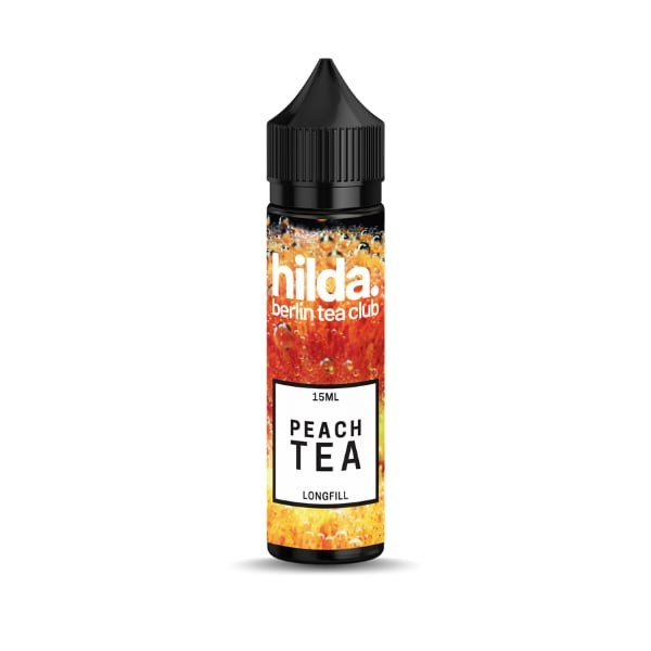 Hilda. Peach Tea Longfill 15ml