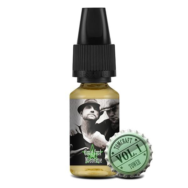 "Tomcraft & Tower ""Vol. 1"" Liquid 10ml (6 mg/ml Nikotin)"