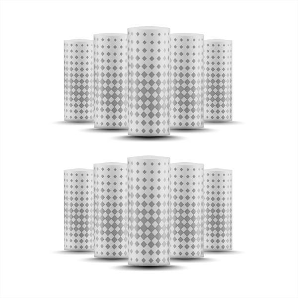 PIPELINE Zeep Mini Cotton Filter (10er Pack)
