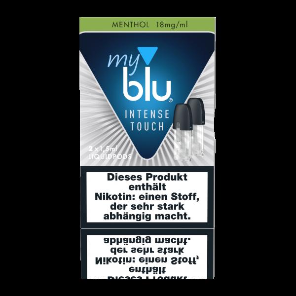 myblu Menthol Intense Touch Liquidpods (18mg/ml Nikotin)