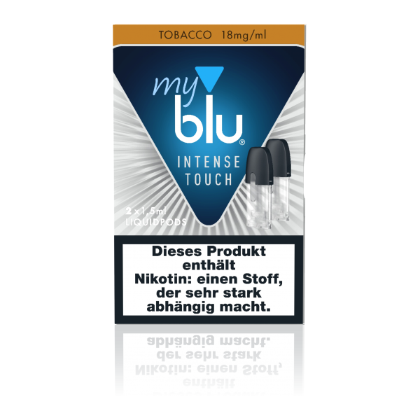 myblu Tobacco Intense Touch Liquidpods (18mg/ml Nikotin)