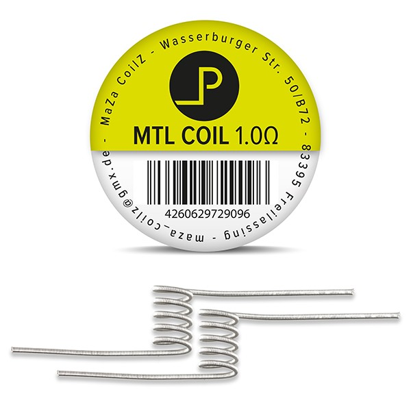 MaZa P MTL Coils (2 Stück)